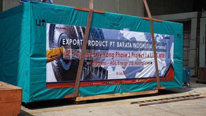 Tahun 2020 Barata Indonesia Giat Ekspor Komponen Pembangkit Listrik