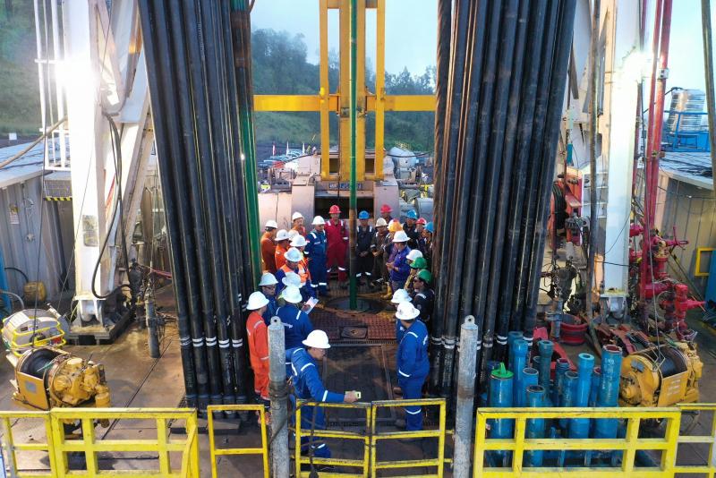 Tahun 2021 Government Drilling Dilaksanakan di 3 WKP