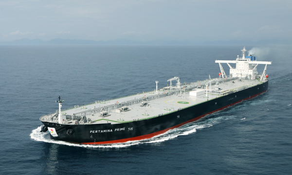 Tanker Raksasa 'Pertamina Pride' Jalan Pertamina Kembali Jaya