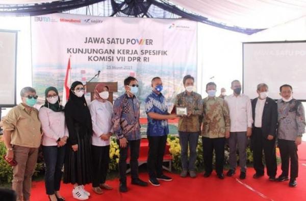 Tengok Progres Pembangunan, Komisi VII Sambangi PLTGU Jawa-1