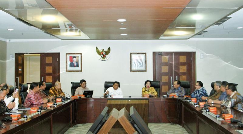Think Tank Dewan Juri IBEA Diskusi Dengan Kepala Staf Kepresidenan
