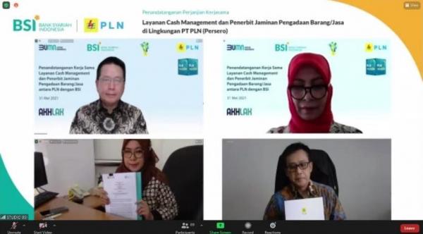 Tingkatkan Layanan Kepada Pelanggan, PLN dan Bank Syariah Indonesia Jalin Kerjasama
