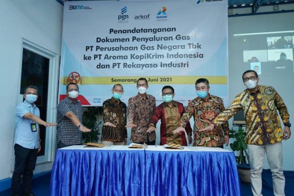 Tingkatkan Produksi Migas Nasional, PGN - Rekind Bersinergi