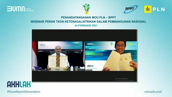 Tingkatkan TKDN Ketenagalistrikan, PLN dan BPPT Kerja Sama Pengkajian dan Penerapan Teknologi