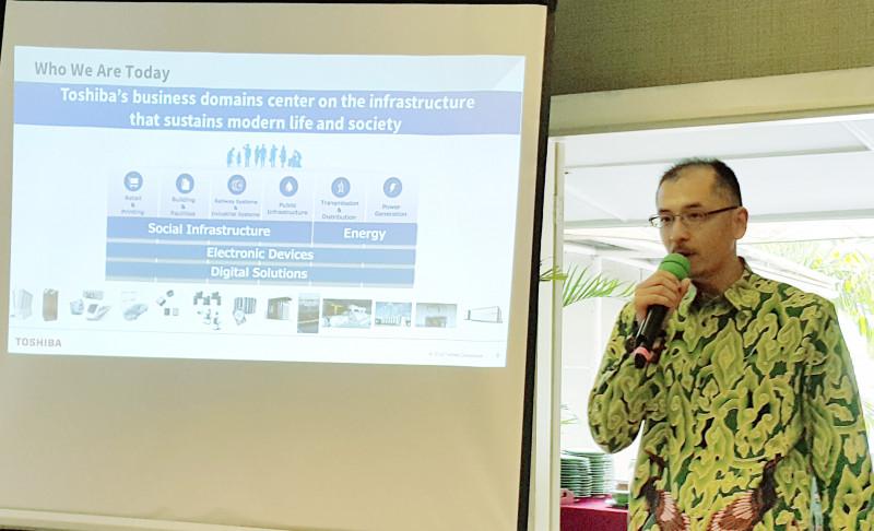 Toshiba Komit Kembangkan EBT Indonesia