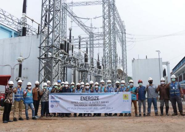 Transmisi SUTET Balaraja - Kembangan 94,4 kms Dukung Keandalan Listrik Jakarta Banten