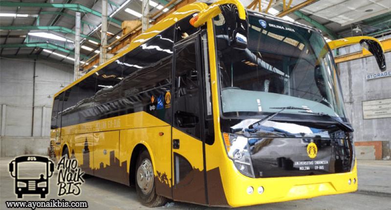 UI dan Perum Damri Kembangkan Bus Listrik Wisata