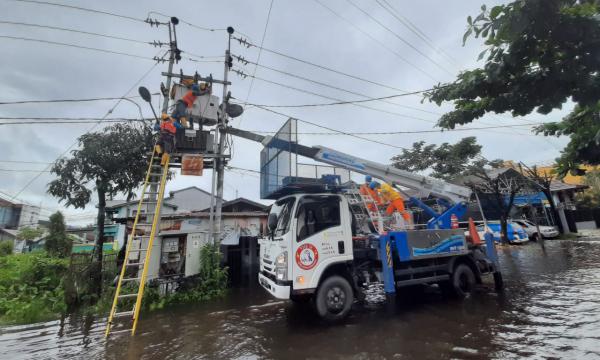 Update Pemulihan Listrik Kalsel dan Kalbar Pasca Banjir