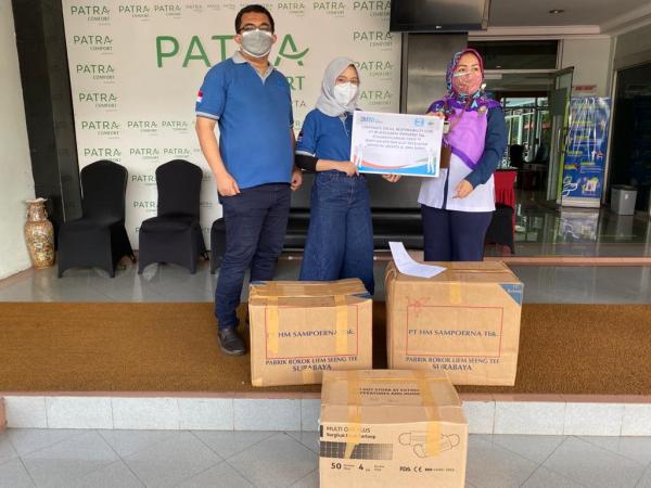 WIKA Reaksi Cepat Salurkan 1.145 APD bagi Rumah Sakit di Jabodetabek