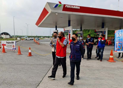 Photo of Pastikan Distribusi BBM & LPG Lancar, Direktur Logistik & Infrastruktur Pertamina Tinjau Langsung Satgas RAFI 2021