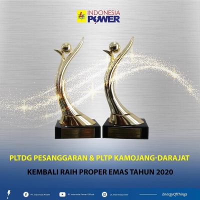 Photo of Penghujung Tahun 2020, Indonesia Power Menuai Proper Emas