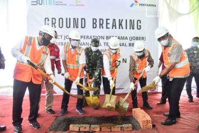 Photo of Penuhi Pasokan Energi di Riau, Terminal BBM Inhil Segera Dibangun
