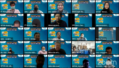 Photo of Peringati Hari Jadi Core Value Baru BUMN, WIKA Grup Helat Refleksi 1 Tahun AKHLAK