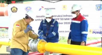 Photo of Perta Daya Gas Mulai Pasok Gas ke PLTMG Sorong