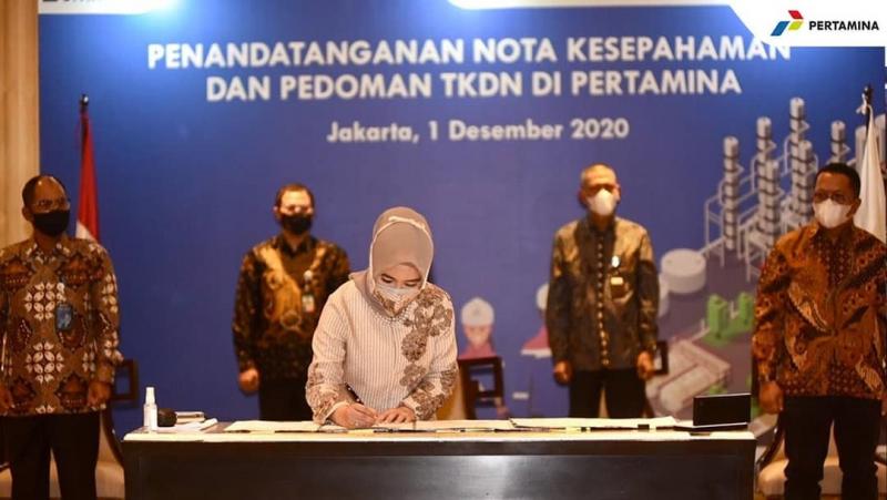 Photo of Pertamina Komitmen Tingkatkan TKDN di Seluruh Proyeknya