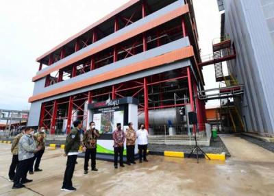 Presiden RI Resmikan Proyek Pabrik Biodiesel yang Dibangun WRK