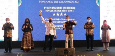 Photo of Program CSR LEN 'Tenaga Surya Untuk Negeri' Menuai Penghargaan CSR Award 2021