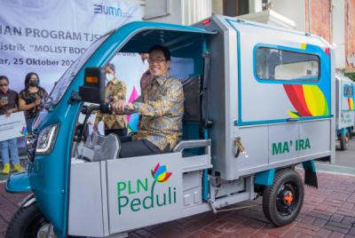 Photo of Tingkatkan Produktivitas UMK, PLN Kembangkan Gerobak Motor Listrik