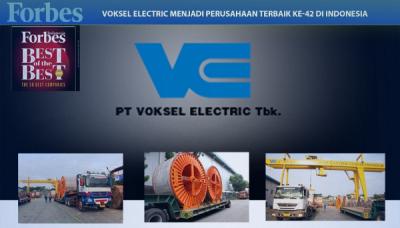 Photo of Voksel Electric Menjadi Salah Satu dari 50 Perusahaan Terbaik di Indonesia